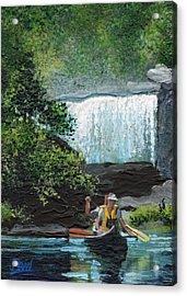Cumberland Falls Acrylic Print by Bill Brown