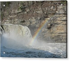 Acrylic Print featuring the photograph Cumberland Falls by Tiffany Erdman