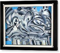 Cumulonimbus Acrylic Print by Jason Amatangelo