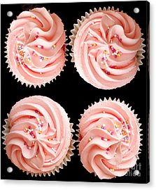 Cup Cakes Acrylic Print by Jane Rix