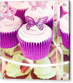 Cup Cakes Acrylic Print