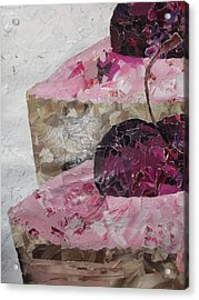 Cupcake Collage Acrylic Print by Sharon Tuff