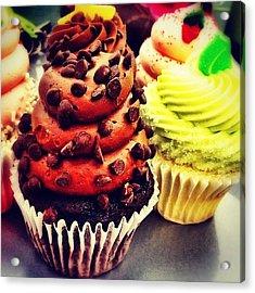 Cupcakes Acrylic Print