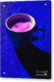 Cuppa Joe - Blue Acrylic Print