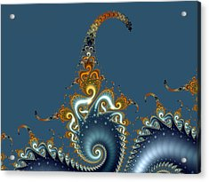 Curly Curly Acrylic Print