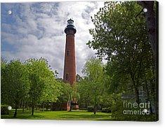 Currituck Lighthouse - 0398 Acrylic Print by Chuck Smith
