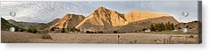 Curry Mountain Panorama Acrylic Print by Larry Darnell