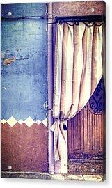 Curtain Acrylic Print by Joana Kruse