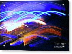 Curvaceous Color Acrylic Print