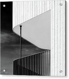 Curved Balcony Acrylic Print