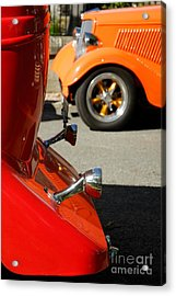 Custom Ford Motor Cars Abstract Acrylic Print by John Kelly