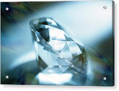 Cut Diamond Acrylic Print by Pasieka