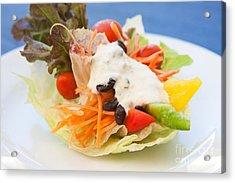 Cute Salad Acrylic Print by Atiketta Sangasaeng