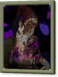 cybergeisha II Acrylic Print by Adam Kissel