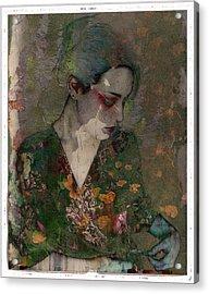 Cybergeisha Vii Acrylic Print by Adam Kissel