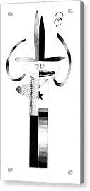 Cycloptic Identity Crisis  Acrylic Print by Tony Paine