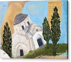 Cyprus Church Of Saint Andronikos Acrylic Print by Augusta Stylianou