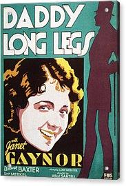Daddy Long Legs, Janet Gaynor, 1931 Acrylic Print
