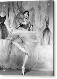 Daddy Long Legs, Leslie Caron, 1955 Acrylic Print by Everett