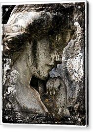 Daguerrotype Angel Acrylic Print