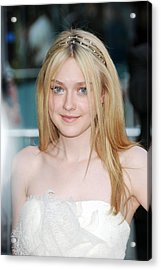 Dakota Fanning At Arrivals For The 2010 Acrylic Print by Everett