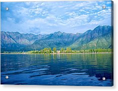 Dal Lake Acrylic Print by Clicked By Aalok
