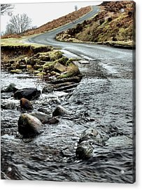 Dalby Forest Ford Acrylic Print