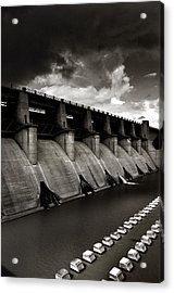 Acrylic Print featuring the photograph Dam-it by Brian Duram