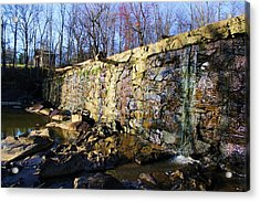 Dam On The River Haw Acrylic Print
