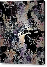 Damask Tapestry Acrylic Print