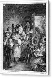 Dames School, 1812 Acrylic Print by Granger