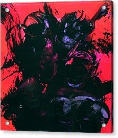 Damn Ms. Scarlet 1 Acrylic Print by Mordecai Colodner