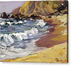 Dana Point Beachhead Acrylic Print by Mark Lunde