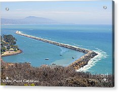 Acrylic Print featuring the photograph Dana Point California 9-1-12 by Clayton Bruster