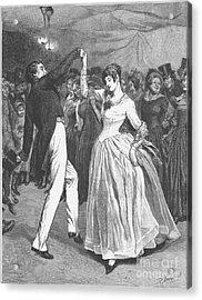 Dance, 19th Century Acrylic Print by Granger