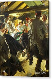 Dance In Gopsmor Acrylic Print by Pg Reproductions