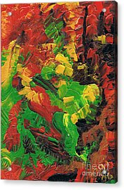 Dancing Colors Acrylic Print by Oliver Betsch
