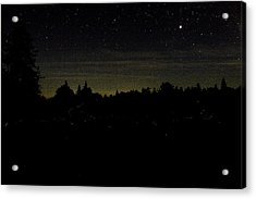 Acrylic Print featuring the photograph Dancing Fireflies by Brent L Ander