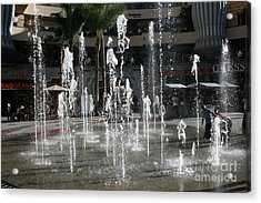 Dancing In The Plaza Acrylic Print