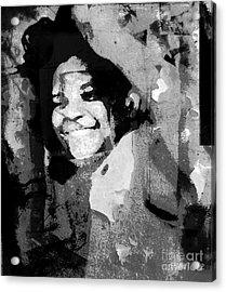 Dancing Invisible Acrylic Print by Fania Simon