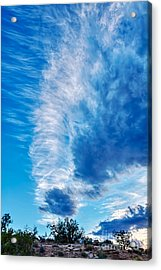 Dancing Light And Clouds 2 Acrylic Print by Scotts Scapes