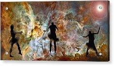 Dancing Nebula Acrylic Print