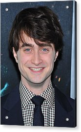 Daniel Radcliffe At Arrivals For Harry Acrylic Print