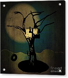 Dans Tree House Acrylic Print