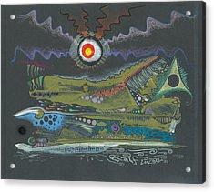 Dargonia Acrylic Print by Ralf Schulze