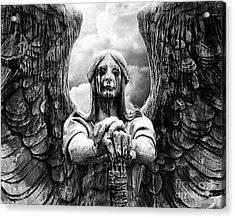 Acrylic Print featuring the photograph Dark Angel Warrior by Anne Raczkowski