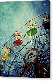 Dark Carnival Acrylic Print by Leah Moore