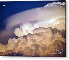 Dark Clouds - 2 Acrylic Print by Graham Taylor