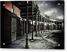 Dark Entrance Acrylic Print by Pixel Perfect by Michael Moore