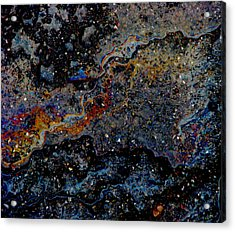 Dark Matter Acrylic Print by Samuel Sheats